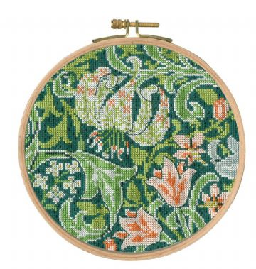 DMC  JH Dearle ,Golden Lily Counted Cross Stitch Kit - BK1176